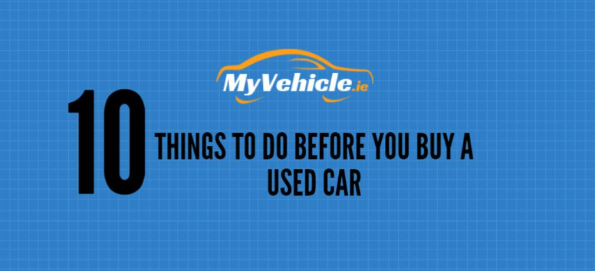 10 things to do before you buy a used car