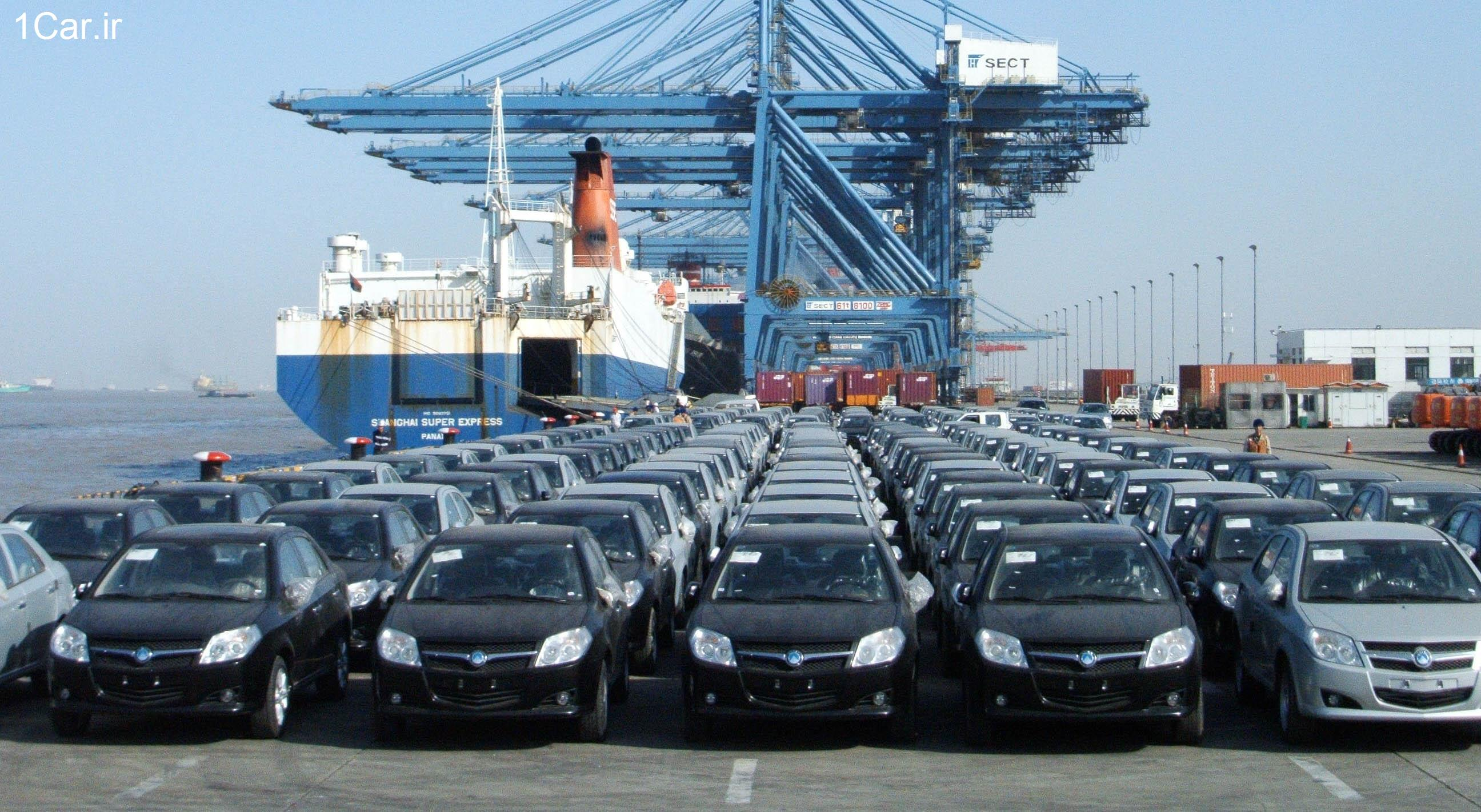 List of top imported vehicles during August