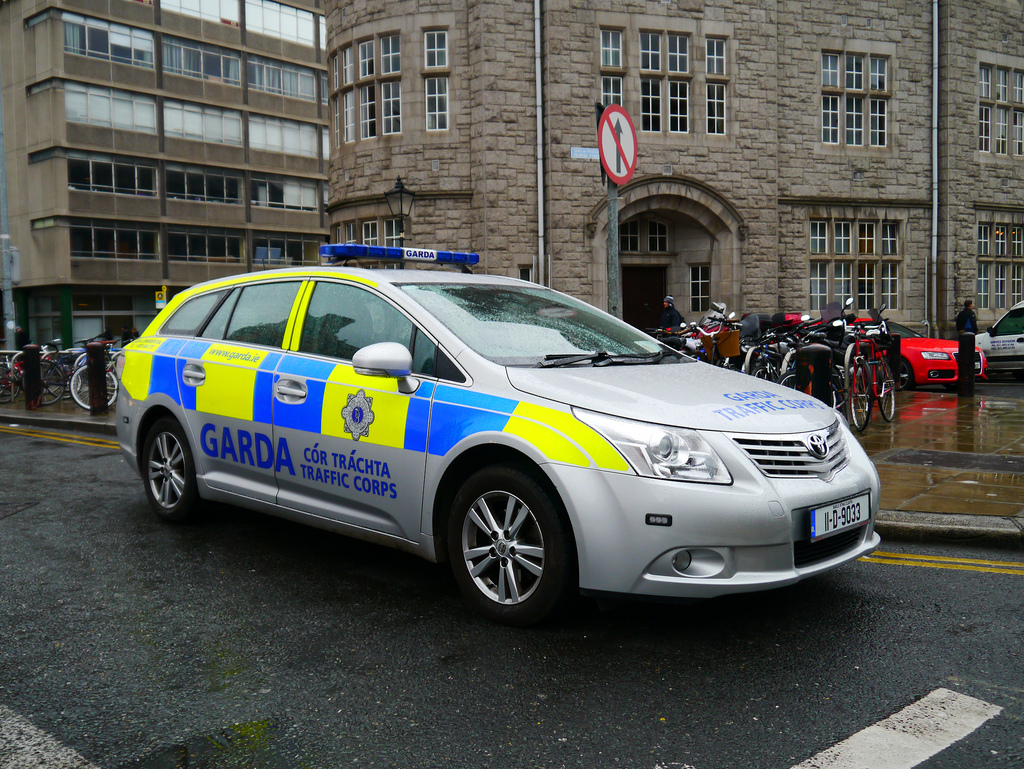 One third of Garda cars have licence plate recognition