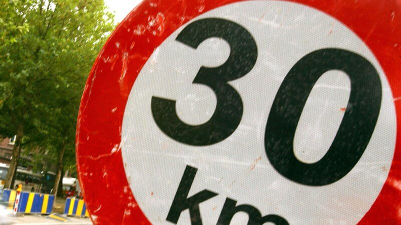 Proposed 30km/h speed limits for Dublin City
