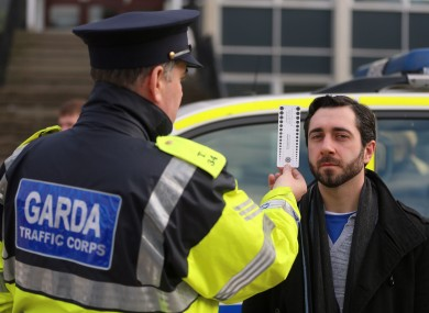 Gardaí to test drivers for drugs at roadside