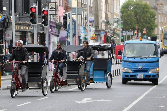 Dublin City rickshaws could be banned