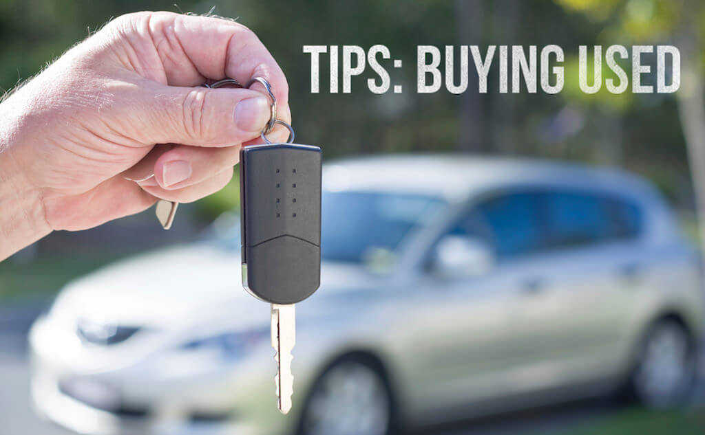 Key steps when buying a used car