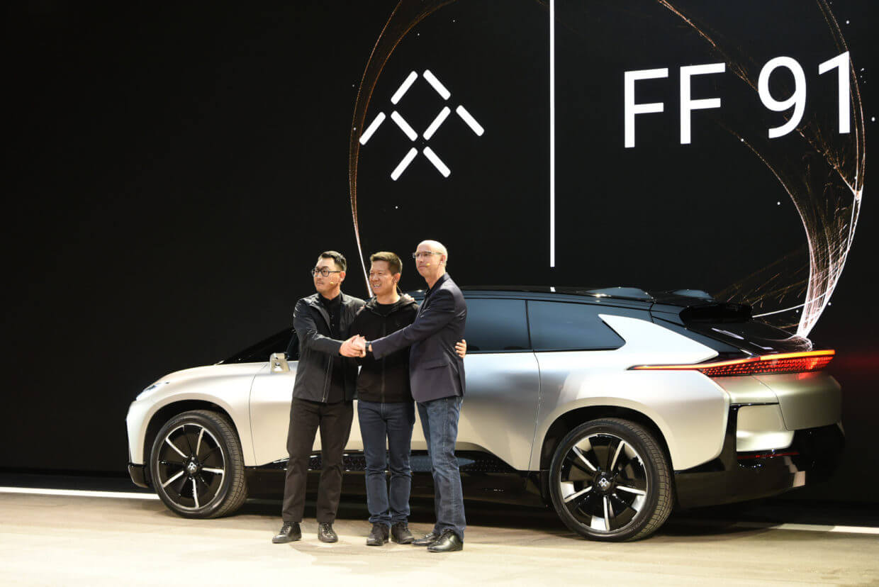 Faraday Future's FF 91 is downright unbelievable