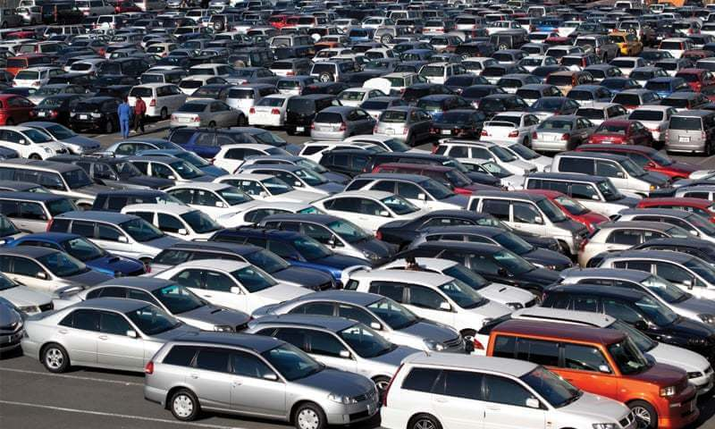 Used car imports surging