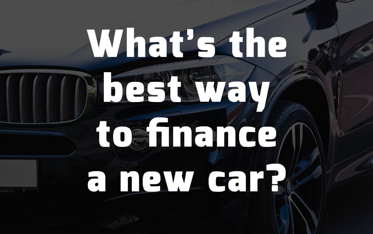 Ways to finance your new car