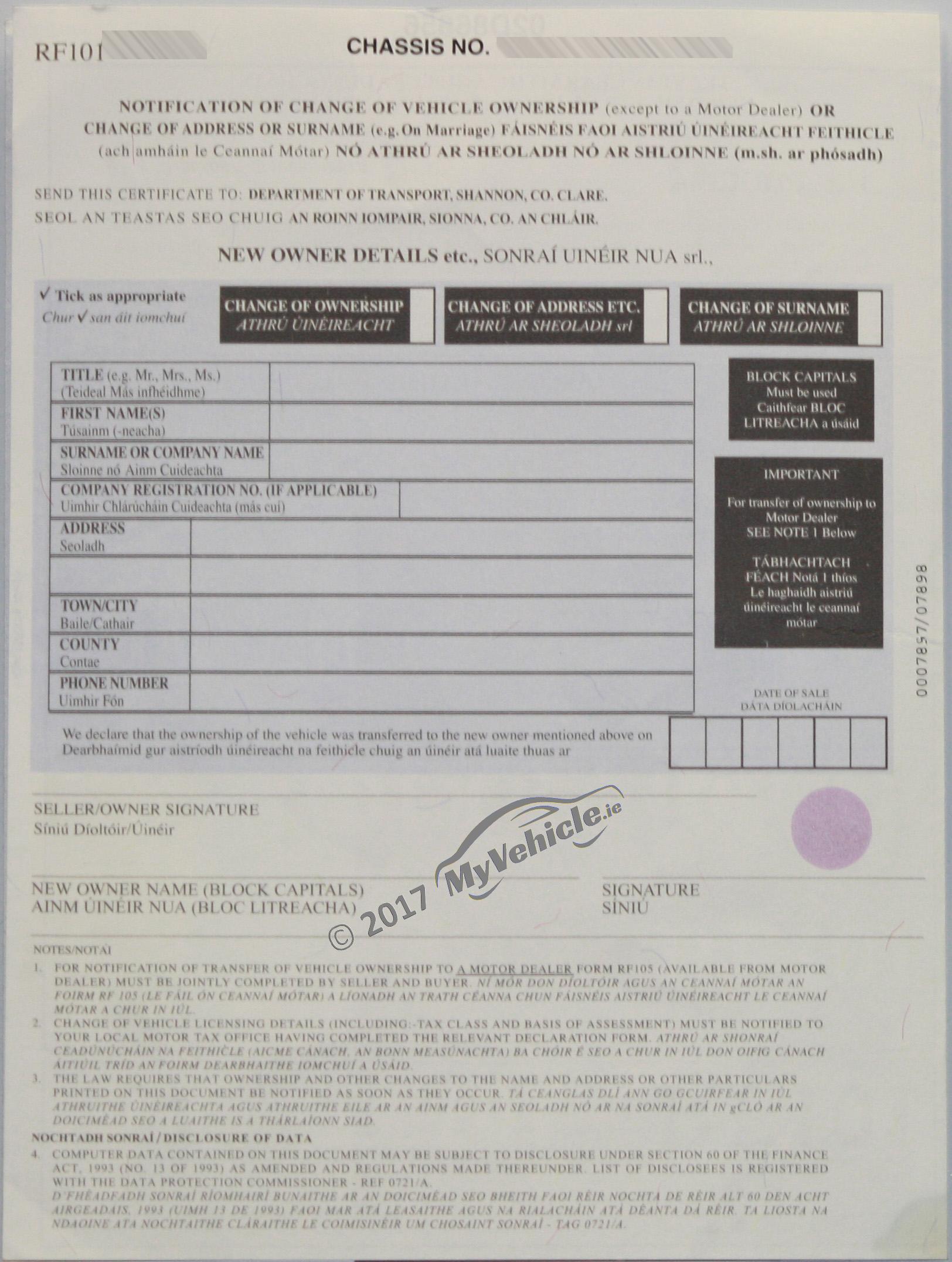 fake vehicle licensing certificates vlc logbooks