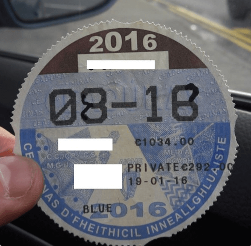 Could This Be The Worst Attempt to Doctor a Tax Disk Ever?