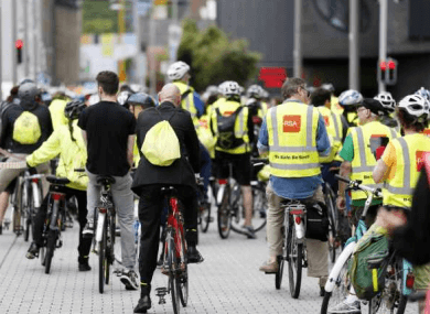 Cyclists and pedestrians could be at more risk now than in winter time