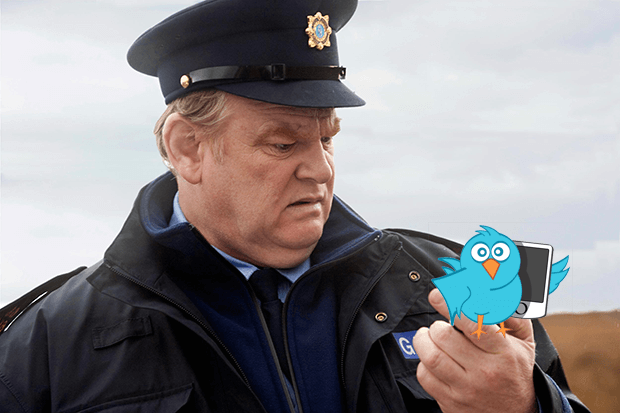 An Garda Síochána Twitter Account - Comical Tweets from the Boys & Girls in Blue!