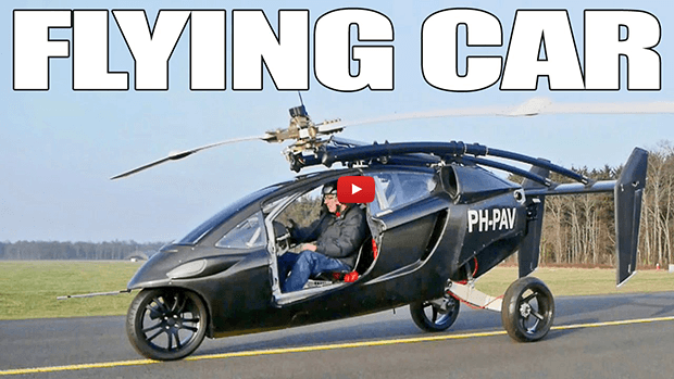 Flying Cars Could Hit the Skies by 2018