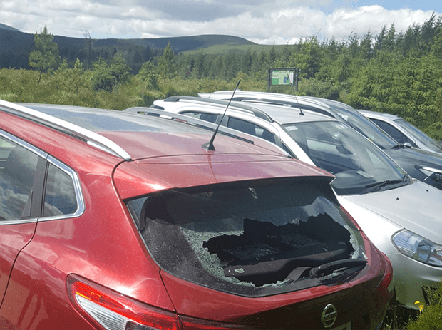 Car break-ins in the Wicklow mountains on the increase