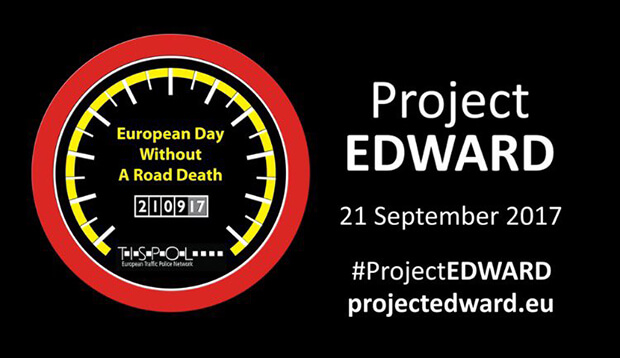 Project Edward. European Day Without A Road Deaths