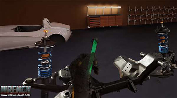 New Video Game, 'Wrench', Lets You Build Cars From the Ground Up in Virtual Reality