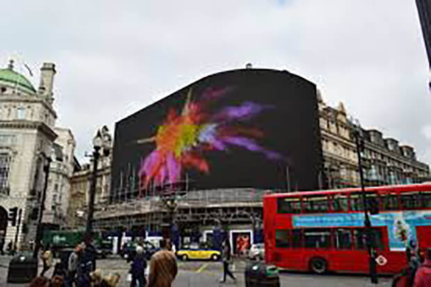 London's Piccadilly Circus get huge new screen which will display ads based on nearby cars and pedestrians