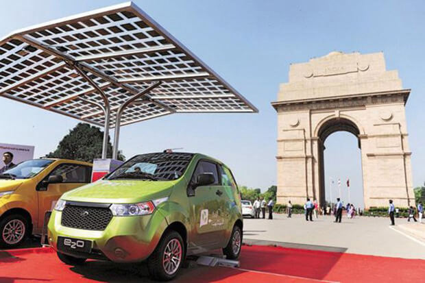 With a massive influx of electric cars anticipated, the Indian Government is calling for bids on charging stations