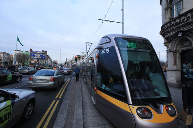 Gridlock as Luas Cross City struggles with traffic signal failure and rush-hour traffic