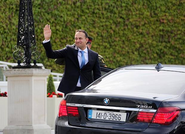 Dublin Traffic Gridlocked Taoiseach takes 75 minutes to get to work