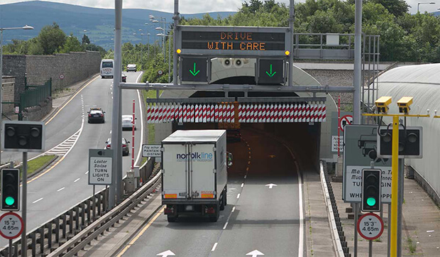 4,000 drivers fined for Dublin Port Tunnel speeding