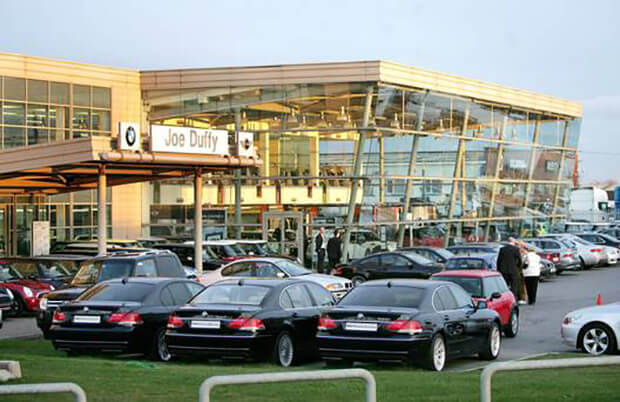 Joe Duffy Group to buy part of rival Motorpark