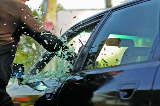 Survey reveals nearly a third of cars vandalised