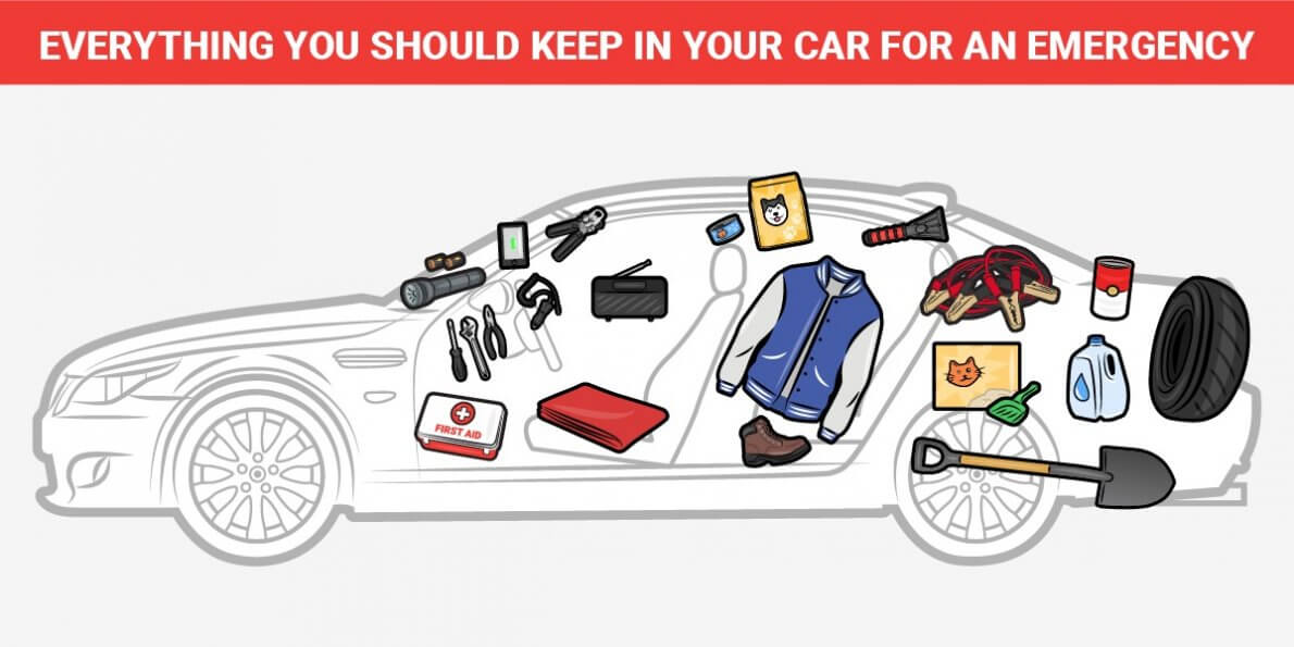 Things you should always carry in your car