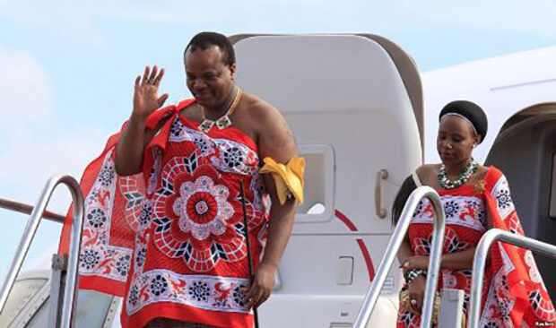 Swaziland denies purchasing luxury cars for the king's birthday