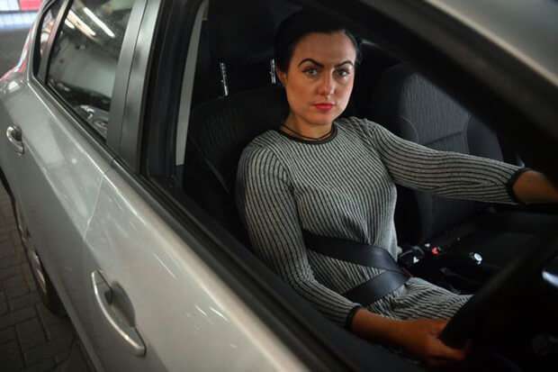 If you wear your seat belt under your arm in the UK, you could be fined £100