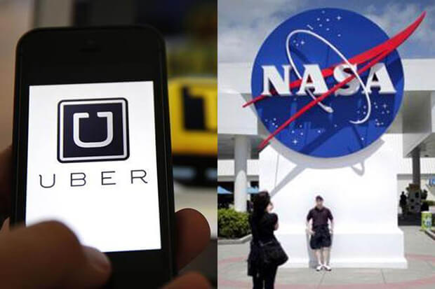 Uber teams with NASA to make flying cars