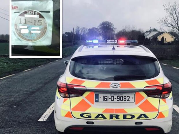 Gardaí stop driver with fake licence on Fathers Day