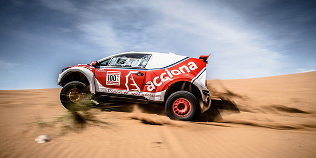 One of the most hard-core EVs ever made is set to take on the Finke Desert Race