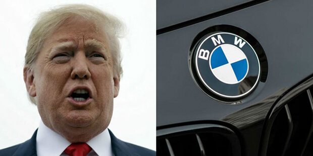 Does Trump want to drive German cars out of America?