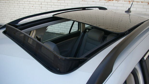 Top-Mount Sliding Sunroof