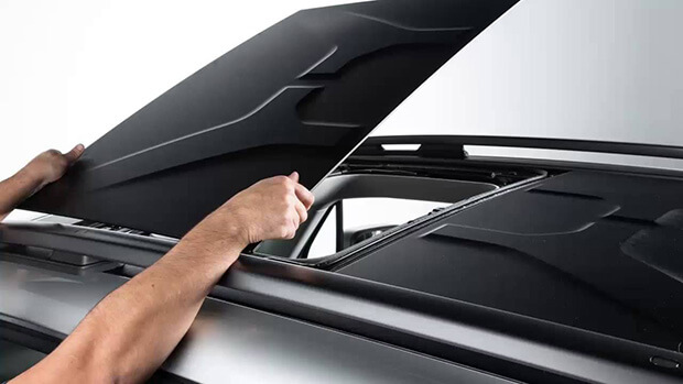 Jeep Renegade removable roof