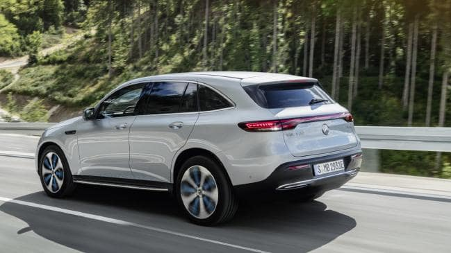 New Electric Mercedes-Benz EQ C SUV for Launch