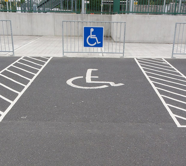 Motorist banned for six months for parking in disabled bay