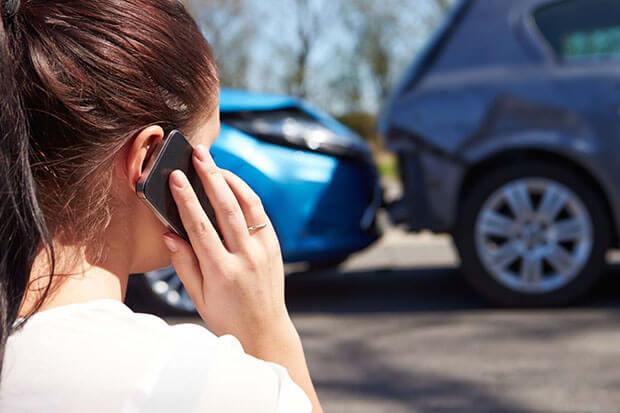 Staged car accident fraud on the increase