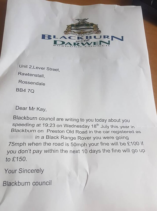 Funny: Girl Attempts To Swindle Pocket Money From Dad With Forged Speeding Fines