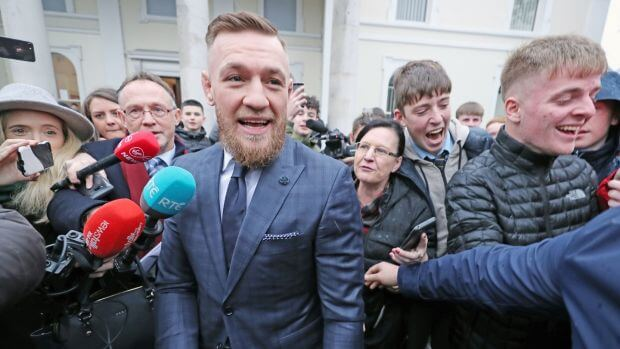Conor McGregor Banned From Driving