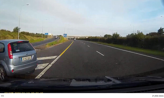 Dangerous Driving on the M4 Motorway