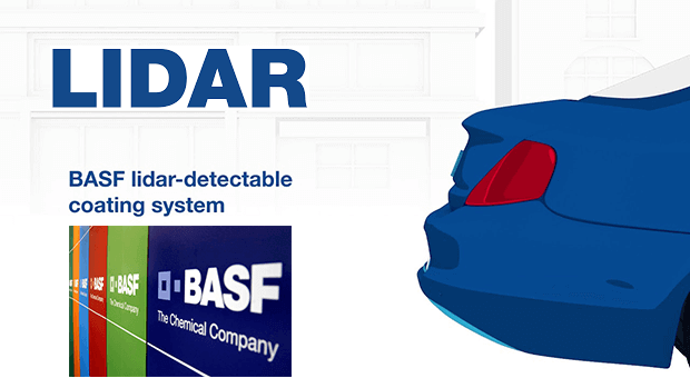 BASF is working to make darker cars more visible to lidar