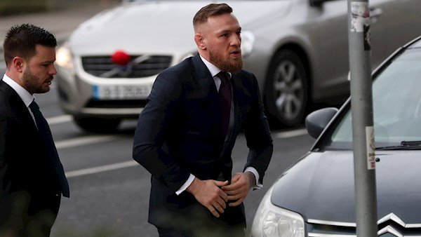 Conor McGregor Appears In Court For Uninsured and Unlicensed Driving
