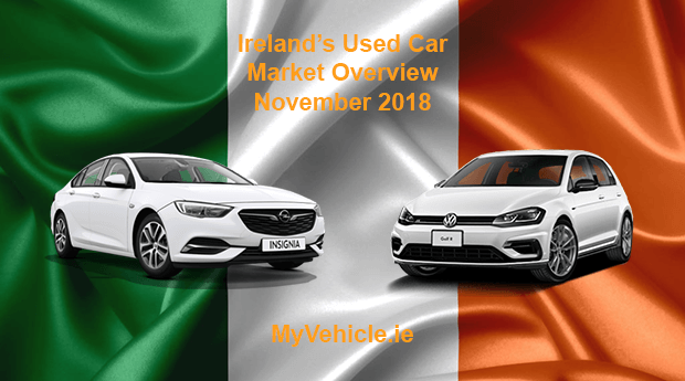 MyVehicle.ie Nationwide Market Overview for November 2018
