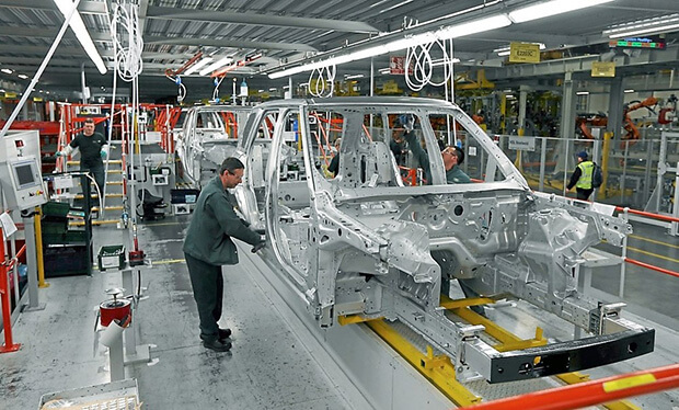 UK car manufacturing at its lowest level in over a decade