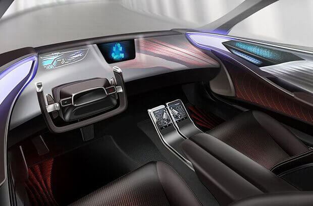 Toyota introducing a new cabin design for Autonomous cars