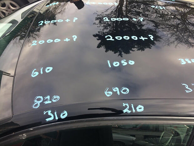 Car Paint Job Hides Hidden Collision History