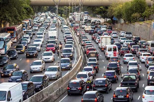 Dublin Traffic Congestion Almost as Bad As Bogota and Rome
