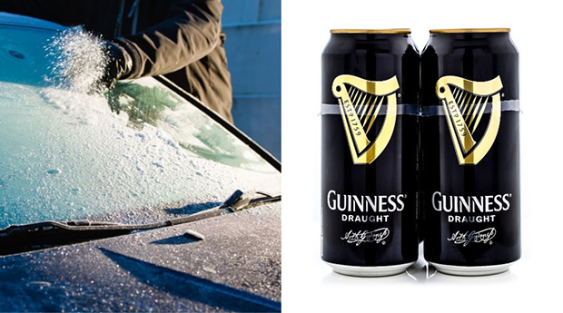 The Guinness De-Icing Hack