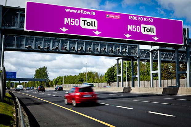 Irish Motorists Not Taking Advantage of Electric Toll Discount