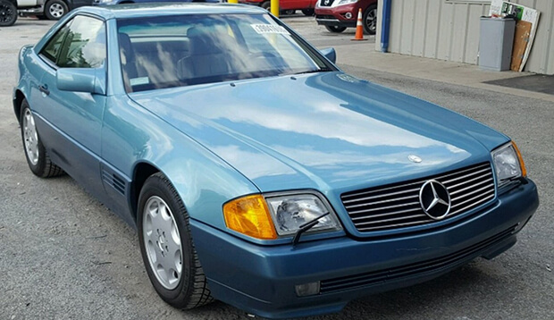 A Mercedes-Benz stolen 27 years ago recovered in mint condition